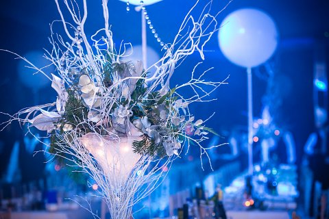 Crystal Table Centres
