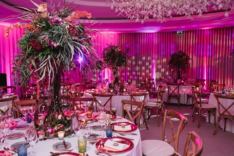 Enchanted forest table centres