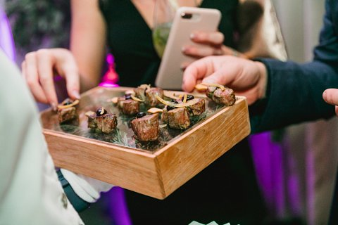Enchanted forest canapes