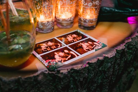 Enchanted forest photobooth