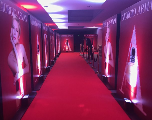 Red Carpet Party set up
