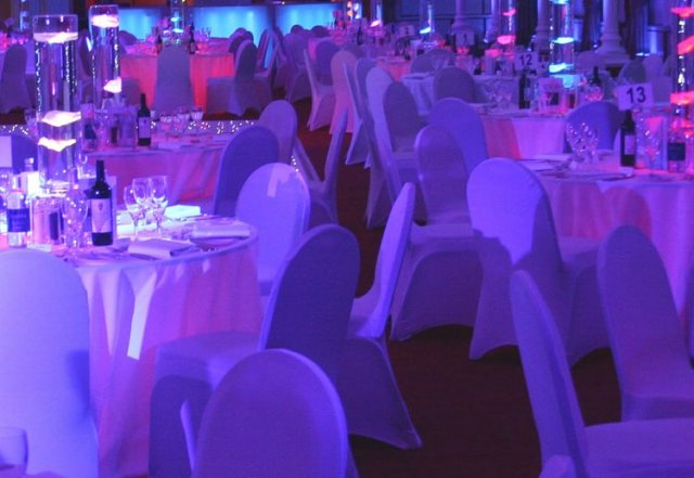 LED Table Centres at Ascot Racecourse