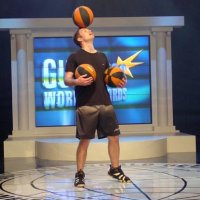 Basketball tricks cabaret act for hire