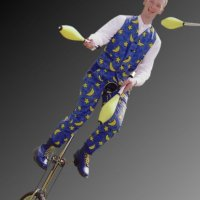 Circus skills cabaret act for hire