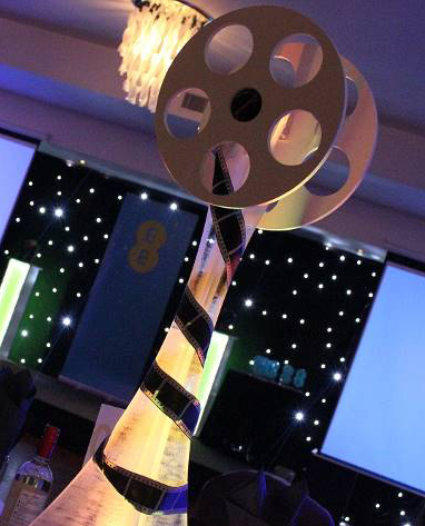 Film Reel Table Centre