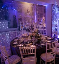 Crystal Trees Table Centre