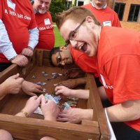 Crystal maze team building activity