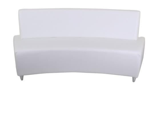 Curved Bench With Back - JD58