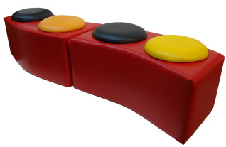 Curved Button Bench - JD53