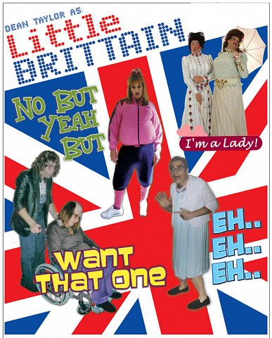 Dean Taylor as Little Britain