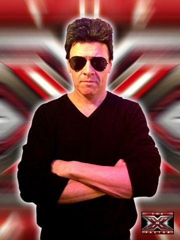 Dean Taylor as Simon Cowell