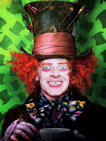 Dean Taylor as The Mad Hatter