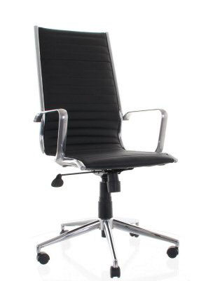 Eames Style Ribbed Chair - JD83C