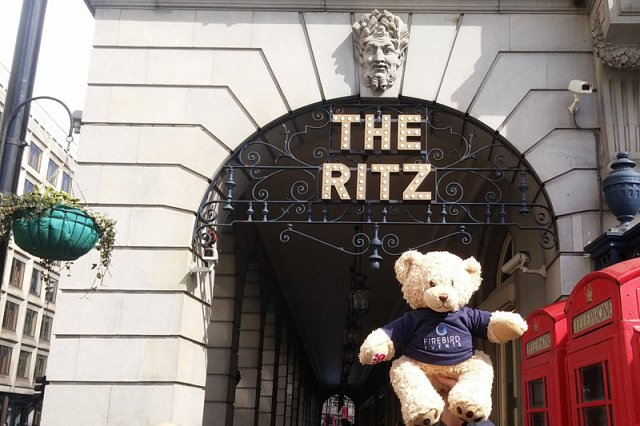 Ted at The Ritz!