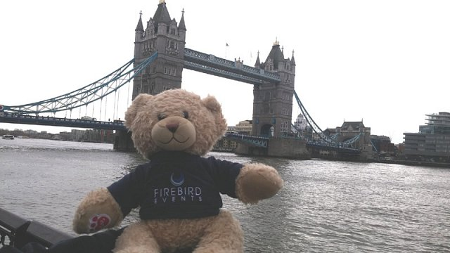 Ted at Tower Bridge, London!