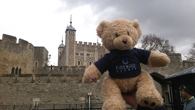 Ted at the Tower of London!