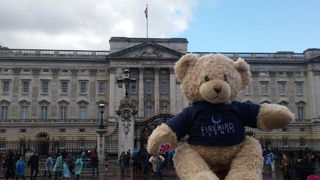 Ted at Buckingham Palace!
