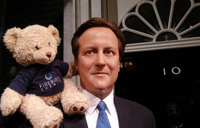 Ted with the Prime Minister!
