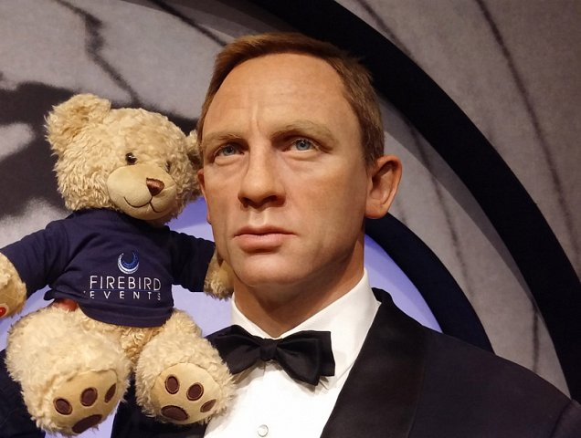 The names Ted, Firebird Ted! With James Bond!