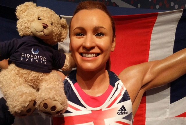 Ted with Olympian Jessica Ennis-Hill!