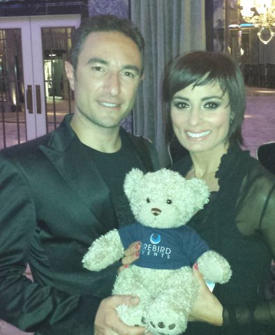 Flavia Cacace and Vincent Simone from Strictly Come Dancing