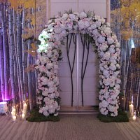 Arch flowers for weddings