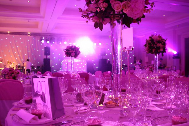 Fairy Light draping at Four Seasons Hotel Hampshire