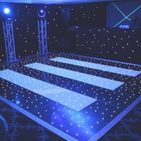 Dance floor at Frimley Hall Hotel