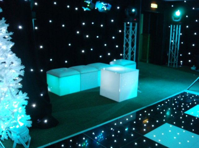LED Furniture at Frimley Hall Hotel