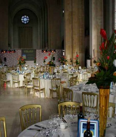 Event Production at Guildford Cathedral