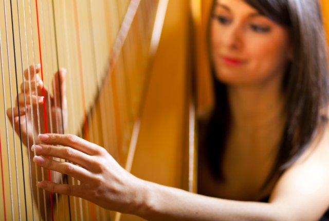Harpists to hire for events
