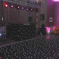 Black DJ Booth at Highfield Park Hotel