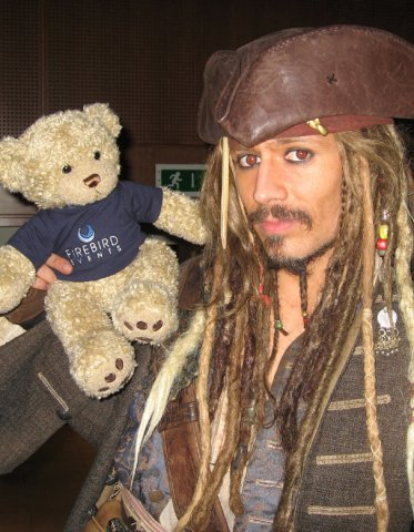 Ted and Jack Sparrow