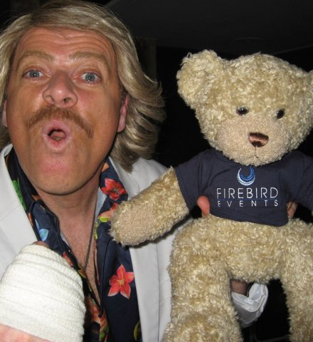Ted and a Keith Lemon lookalike!