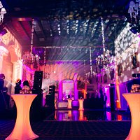 LED Poseur Tables for Hire