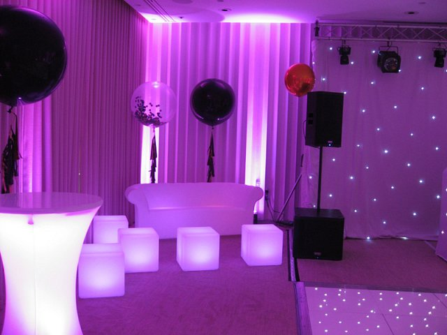 LED Sofas at Coworth Park