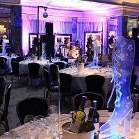 Themed LED Table centres to hire
