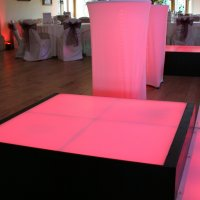 LED Dance Podiums to hire