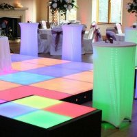 LED Dance Podiums to hire for weddings