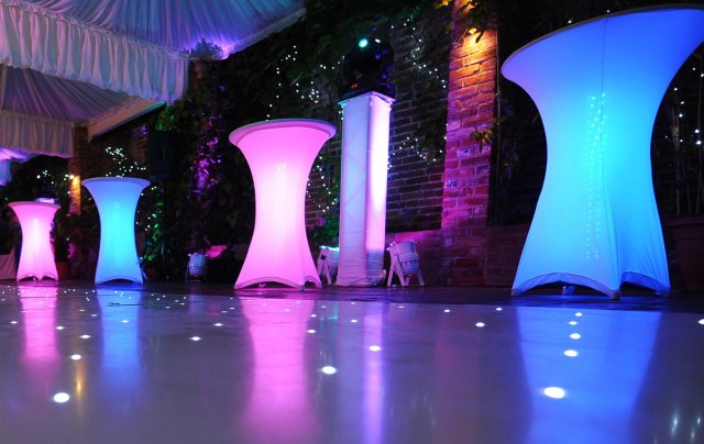 Funky LED Mirror Furniture