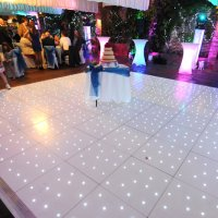 LED Poseur Tables for events