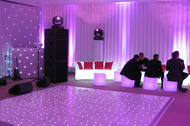 LED Sofas to hire for weddings