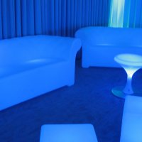 LED Sofas to hire for events