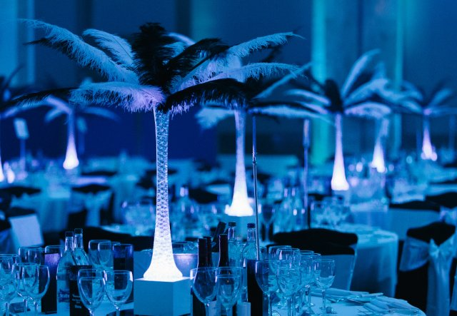 LED Table Centres weddings