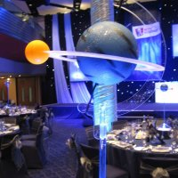 LED Table Centres themed events