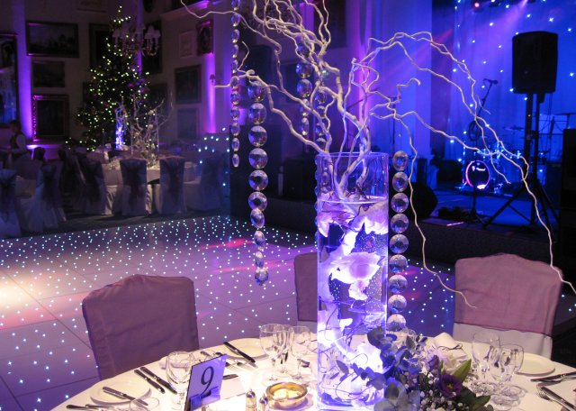 LED Table Centres for weddings