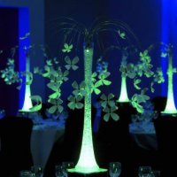 LED Table Centres for events