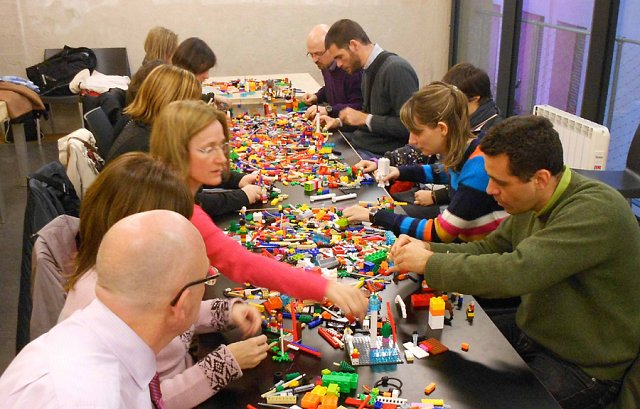 Lego animation workshop Team build