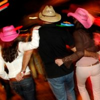Line Dancing Texas Tornadoes for weddings