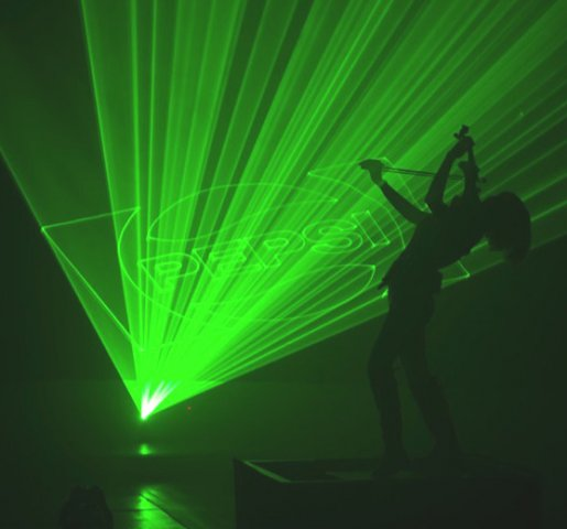 Lumina Laser Violinists for hire